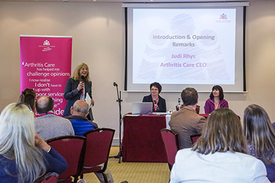 Coverage of Arthritis Care annual conference.