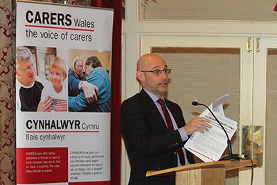 Coverage of Carers Wales annual confrence