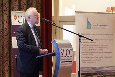 Coverage of Society of Local Council Clerks annual conference