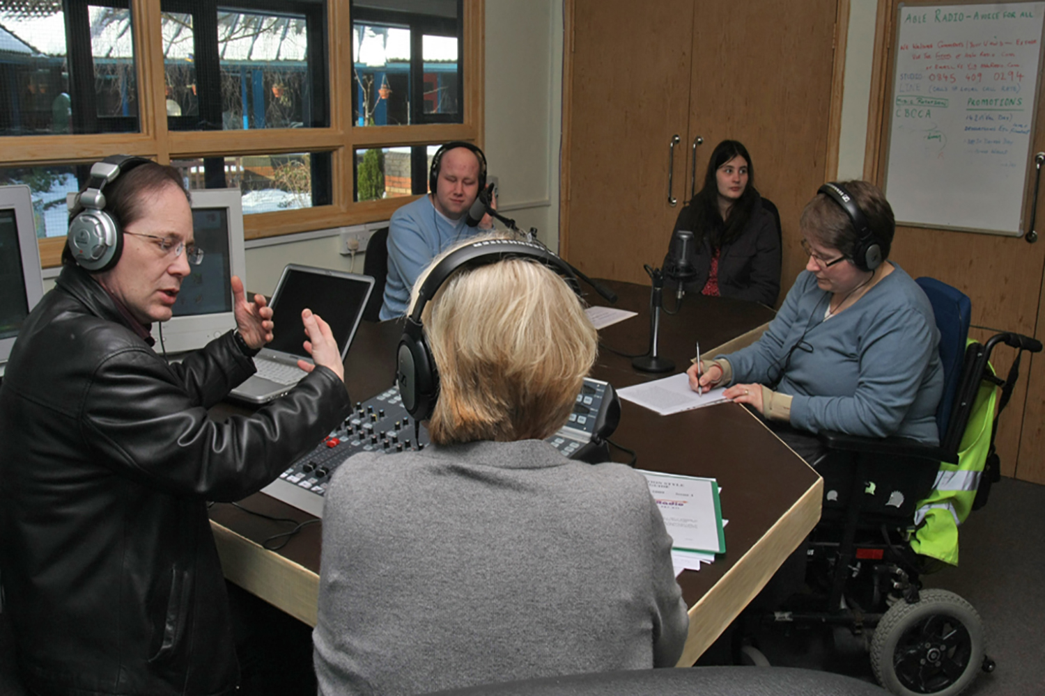 Able, Radio, Disability, Launch, Pontypool, Station, Online, Support.